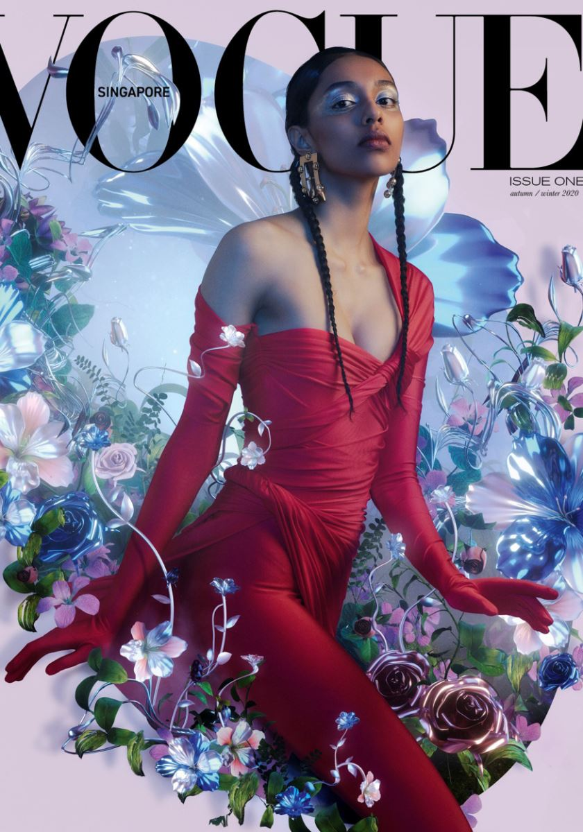 news image - Vogue Singapore Issue One F/W Cover